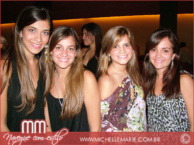 Adriana Quinteiro, Bruna Rolim, Sasha Menezes e Júlia Nascimento