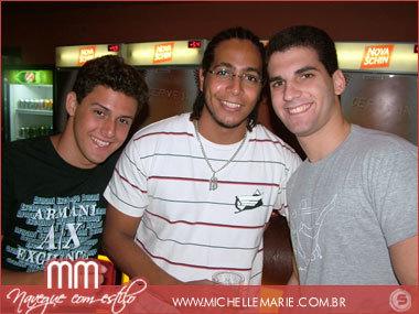 Alfredo Drumonnd, Vitor Dias e Fred Drumonnd