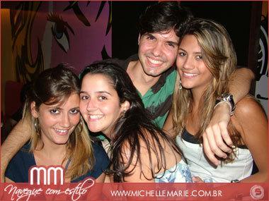 Ana Luiza, Flávia Pedreira, Paulo Pinto e Camila Cajazeiras