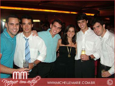 José, Cadu, Bebeto, Tici, Paulinho e Vitor Urpia