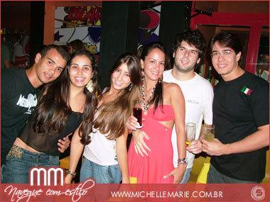 Luiz, Verônica, Karen, Jaqueline, Paulo e Tiago