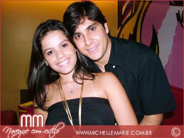 Ticiana Shisourel e Diego Freitas