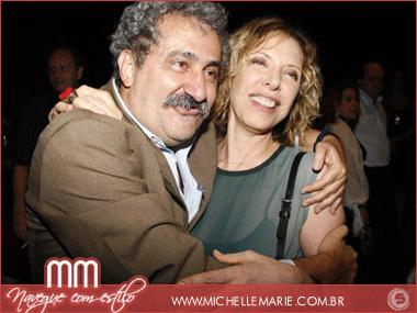 Ancelmo Goes e Marília Gabriela