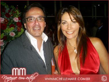 Adriano Grangeon e Luzia Santhana