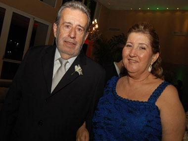 Nely e Libório, os pais da noiva!