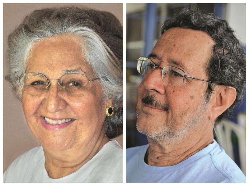 Mabel Veloso e Rruy Espinheira Filho - Foto Márcia Lima