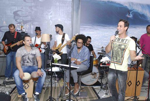 Alvinho Pinho com Magary e Adelmo Case