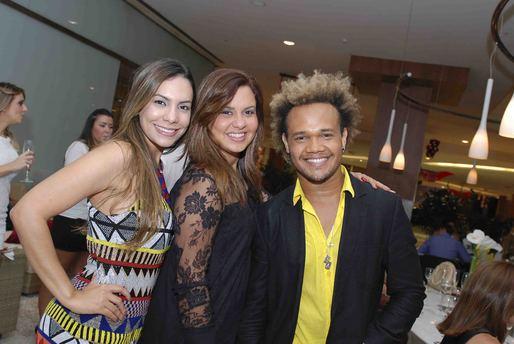 Ana Cecília, Claudia Costa Lima e Uran Rodrigues