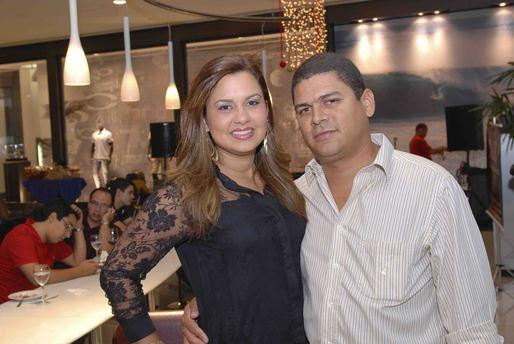 Claudia Costa Lima e Lucas Salles