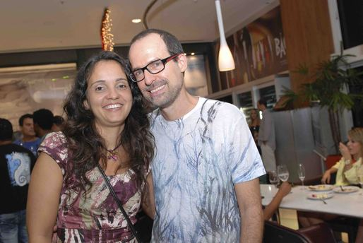 Daniela Penna e Alexandre Lins