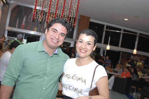 Diego Cabanelas e Gisele Dias