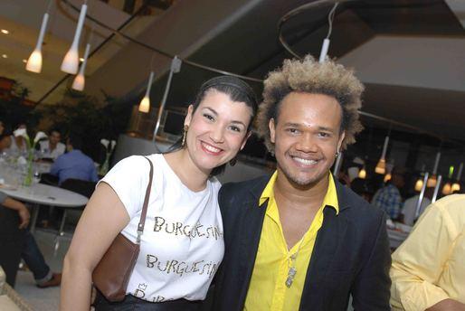 Gisele Dias e Uran Rodrigues