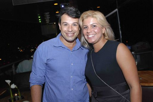 Luiz Marcelo e Maiara Antonelle