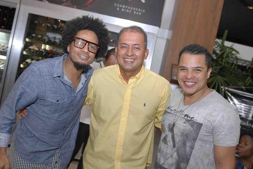 Magary Lord, José Pinheiro e Adelmo Casé