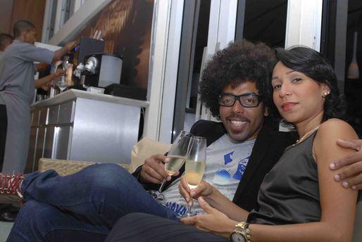Marcus Labi e Renata Cruz