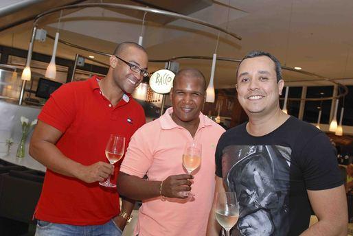 Tiago Ferreira, Jeferson Ferreira e Leonardo Barros
