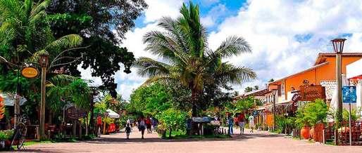 Vila-dos-Pescadores-na-Praia-do-Forte-BA (Foto: Reprodução)