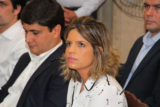 A filha Paula com o marido Arnaldo Gusmão