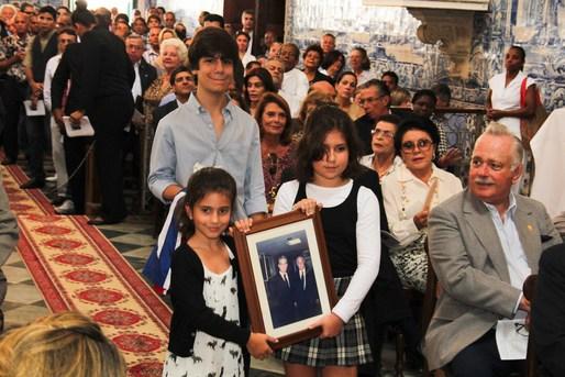 Os netos Luiz Eduardo Mirela e Michelle
