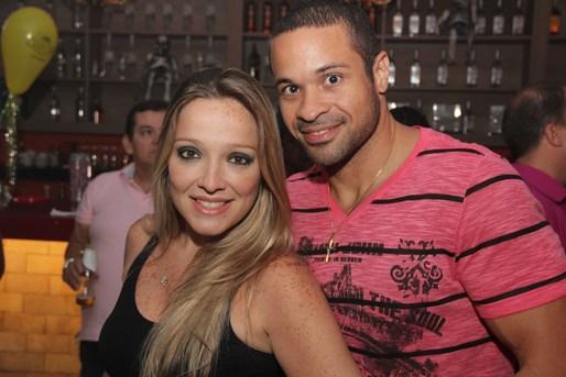 Elisa Menezes e David Azevedo (Dj Monstro)