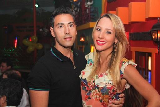 Luiz Marcelo Garcia e Nathalie Sena