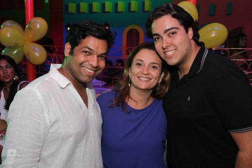 Marcos Rolim, Fabiana Candini e Marcelo Borges