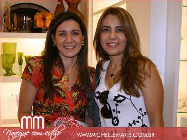 Adélia Estevez e Rita Queiroz