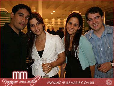 Anderson Costa, Vanessa Sampaio, Cristina Sampaio e Adriano Avelar