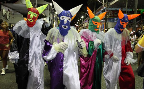 Grupos culturais se apresentam no Carnaval de Salvador