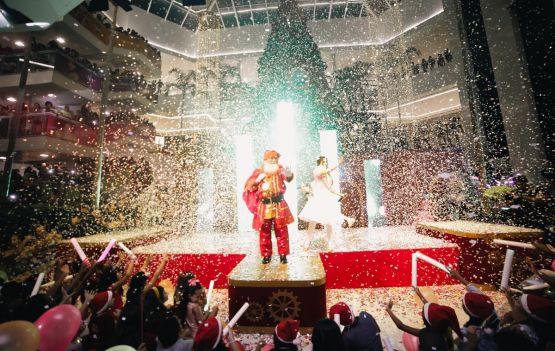 Shopping Bela Vista inaugura decoração de Natal inspirada na alegria do Circo