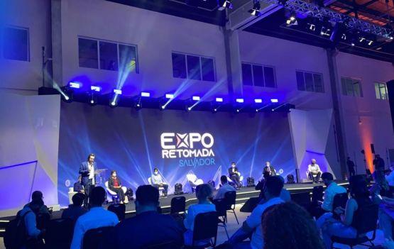 Abertura oficial da EXPO RETOMADA