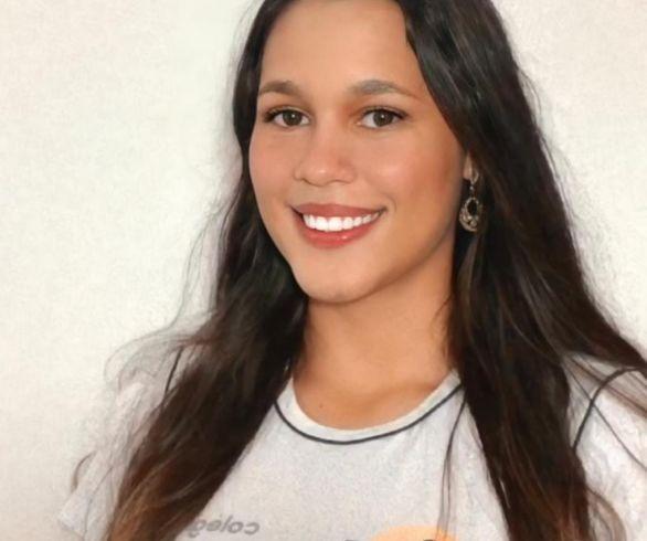 Leticia aluna do Integral. Foto divulgação