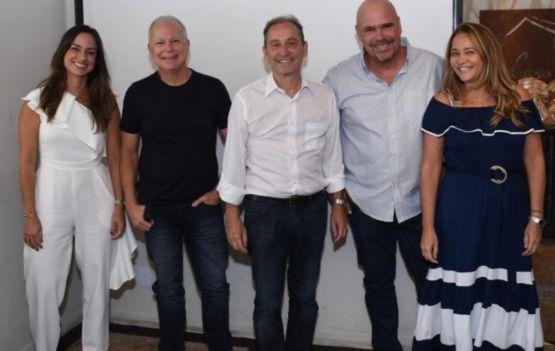Claudia Galvão (presidente), Paulo Coelho (vice-presidente), Antonio Gatto (diretor administrativo), Lon Menezes (diretor financeiro) e Anapaula Andrade (diretora de marketing).