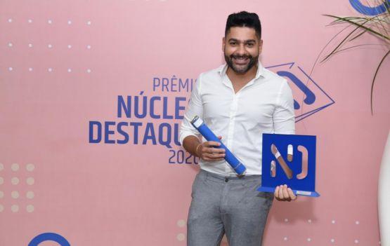 Christiano Ruvenal , vencedor do prêmio Núcleo Destaque, vem conquistando espaço