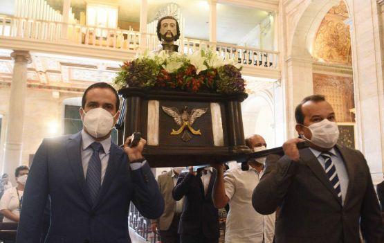 Missa na Catedral Basílica homenageia padroeiro de Salvador