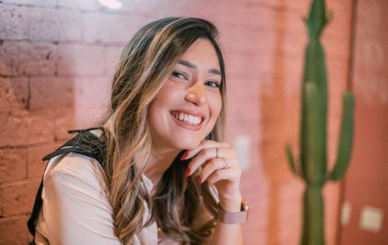 Fundadora da Essence Branding e presidente da Confederação Nacional de Jovens Empresários, Maria Brasil