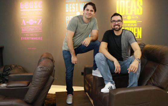 Fábio Rogério, fundador e CTO da Tindin, e Eduardo Schroeder, fundador e CEO da Tindin. Divulgação
