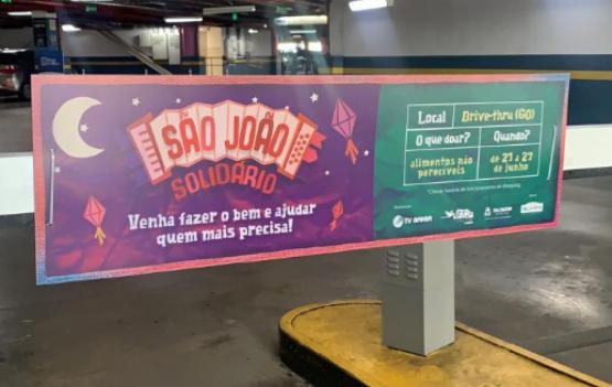 Shopping Bela Vista monta Drive 'São João Solidário' para combater a fome
