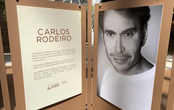 Exposição homenageia Carlos Rodeiro com retrospectiva de seus desfiles em Salvador