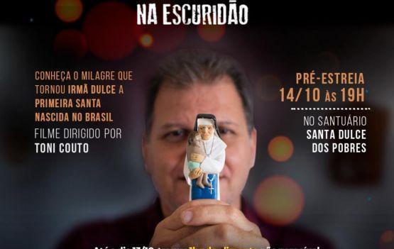 Filme sobre milagre de Santa Dulce dos Pobres terá pré-estreia em Salvador no dia 14 de outubro