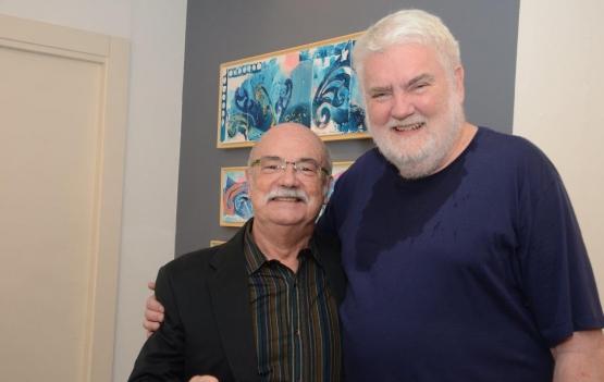 John Nicholson lota a Galeria Patrícia Costa