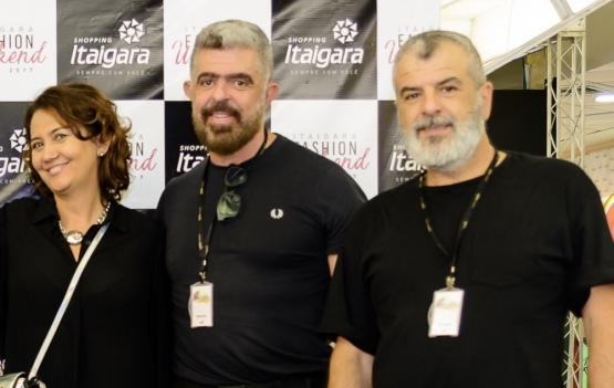 Soninha Mota, Almir Jr. e Marcelo Gomes - Foto: divulgação