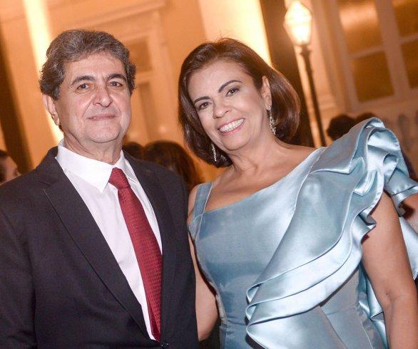 Cristina e Paulo Darzé - foto Valtério