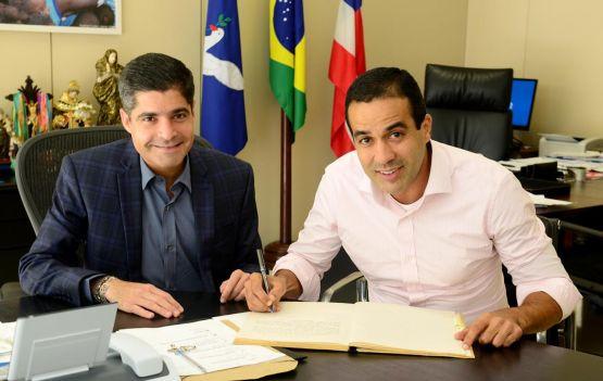 ACM Neto e Bruno Reis - Foto: divulgação