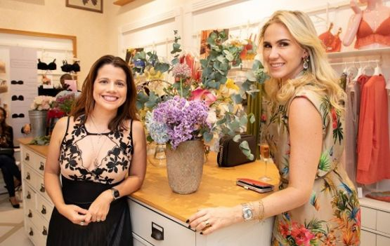 Fabiana Duran e Renata Andrade . Fotos Gabriel Alencar