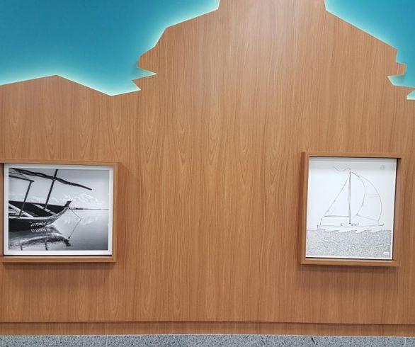Espaço para exposições artísticas no Aeroporto é inaugurado com obras de Elano Passos e Will Recarey