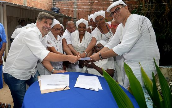 FGM entrega título de tombamento provisório à Casa de Ògún