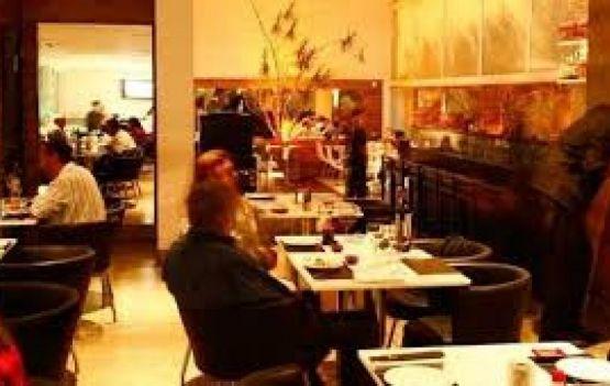 Restaurante Shiro esteve super bem frequentado.