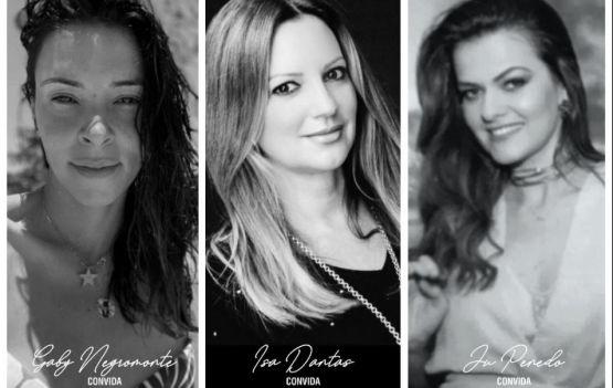 Gabriella Negromonte, Isa Dantas, Ju Penedo e SCHUTZ  pilotando evento bacanérrimo.