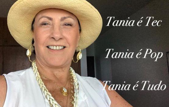 Será dia 12 de dezembro o brinde em torno da querida Tania Motta.